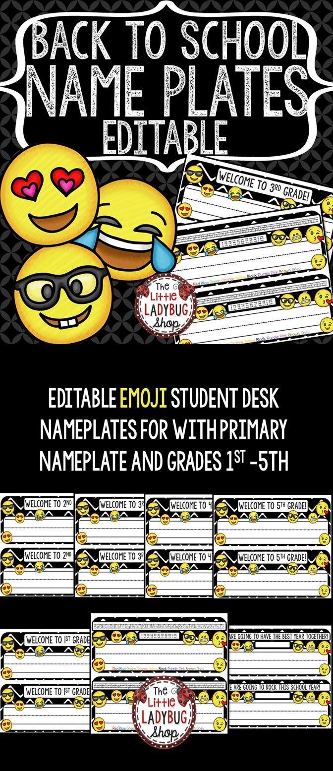 Best 25 Student Name Plates Ideas On Pinterest