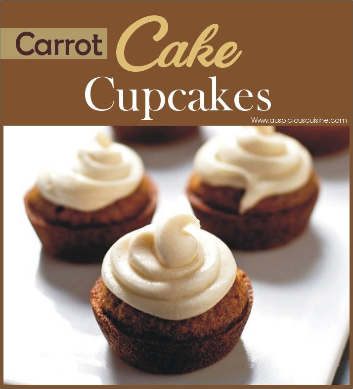The best carrot cake cupcakes with cream cheese frosting is at your doorstep now! Try this and enjoy the sweet after dinner.
