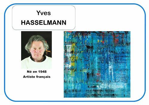 Yves Hasselmann - Portrait d'artiste en MS