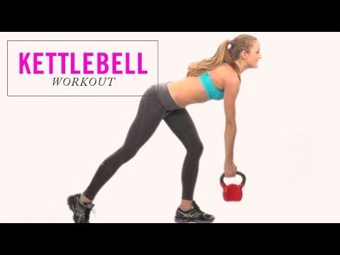 Kettlebell Exercises for Toning Your Total Body - Full Body Workout Routine