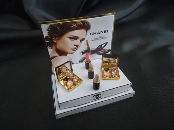 """Make-up shop display """"Chanel"""" 1/12th scale."""