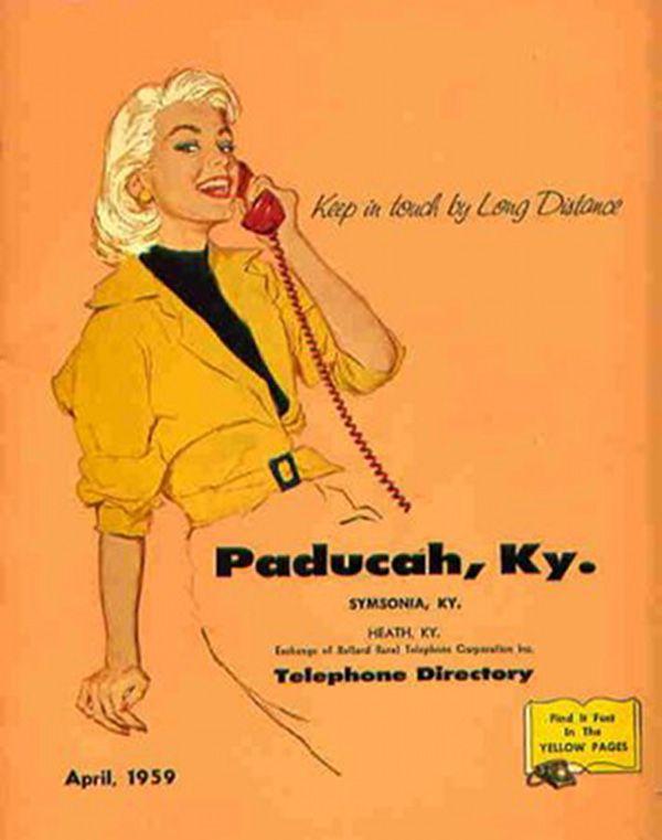 Vintage Telephone Book 113