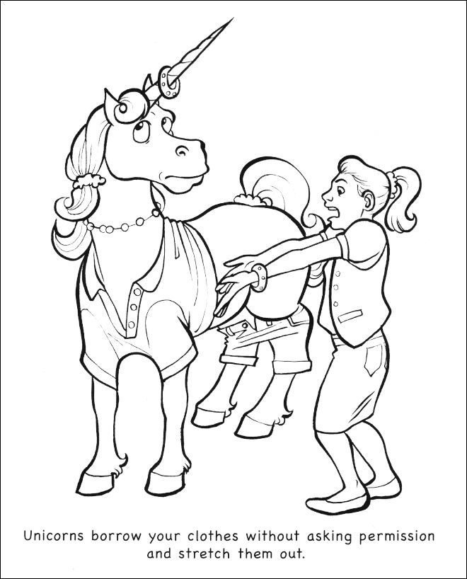 14 best images about Coloring Book: Unicorns Are Jerks on ...