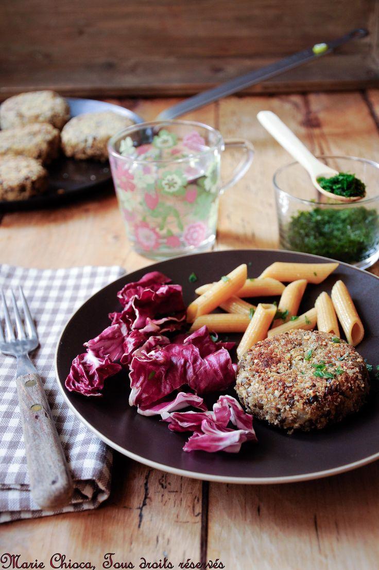 Petits burgers pour grands gourmands (recette vegan aux lentilles)