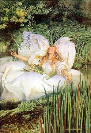 Ophelia by W. G. Simmonds