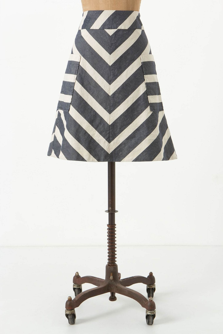 love...: Fashion, Style, Clothing, Endpoint Skirt, Striped Skirts, Anthropologie Com, Fun, Closet, Chevron