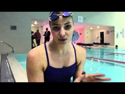 Swimming tips with Keri-anne Payne - lengthening out your stroke