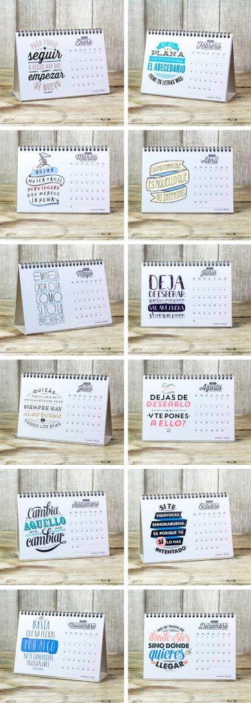 Ya están aquí los calendarios para el 2014. Y sí, decimos los calendarios porque este año vamos bien surtidos de modelos y de formatos. Dos diseños diferentes, cada uno de ellos en formato pared y sobremesa, para que tengáis dónde elegir y cada uno encuentre el que más feliz le haga. ¿Queréis verlos? ¡Pues empezamos!Leer Más