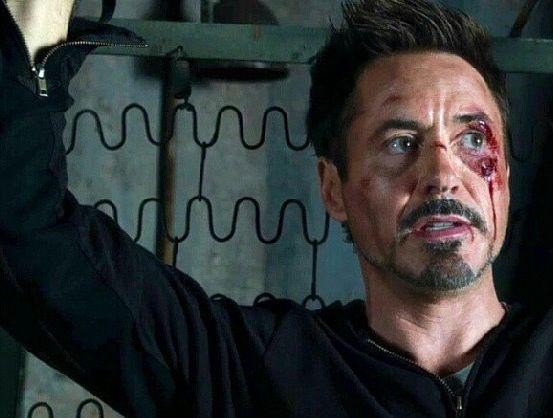 tony stark iron man 3 facial hair pinterest iron