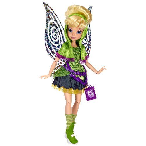 Шарнирная кукла фея Tinker Bell (Динь-динь), 24 см, из серии 'Праздничная вечеринка' (Celebrate Pixie Party), Disney Fairies, Jakks Pacific