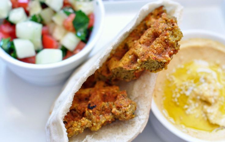 Waffled falafel!!! This was a great blog and I am sad that the project is done.