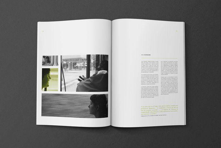 Livre de thèse d'architecture sur Behance   – Master Program