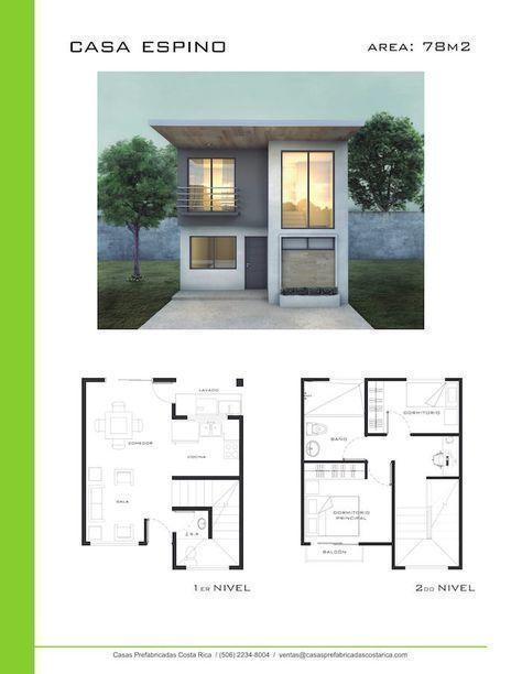 Modelos de Casas de Dos Pisos – Casas Prefabricadas Costa Rica #casasminimalistaschicas #modelosdecasasprefabricadas #modelosdecasasdedospisos