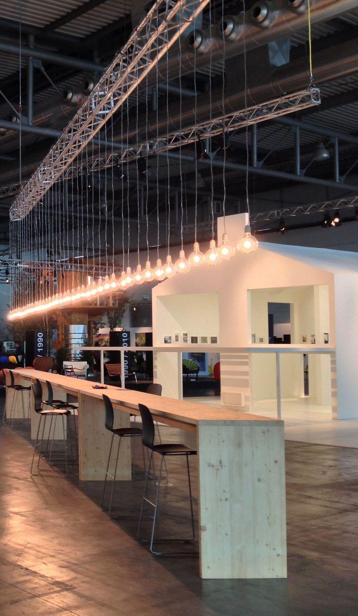 Piero Lissoni Installation and Black Bar @ Abitare il Tempo