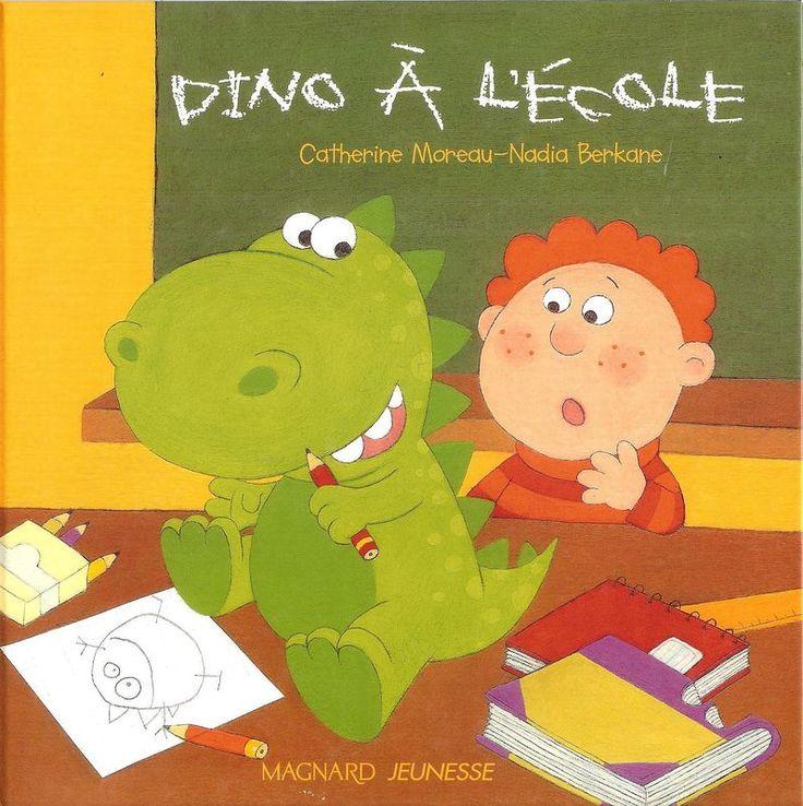 Lecture GS - Dino à l'école
