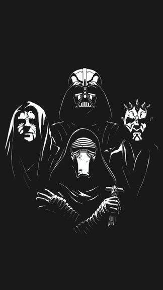 StarWars Villains iPhone 6 / 6 Plus wallpaper