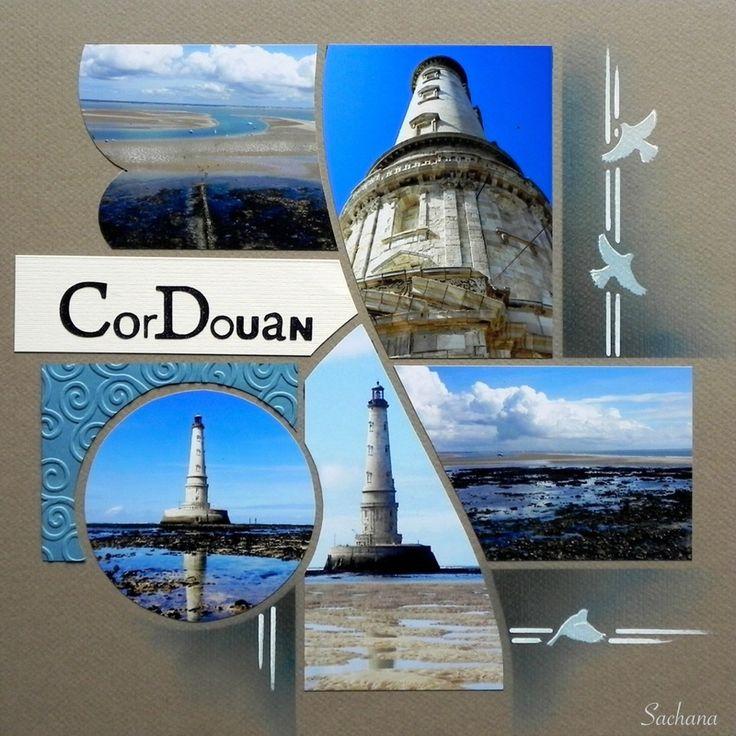 Le phare de Cordouan, gabarit Paysage de Perle de Sable