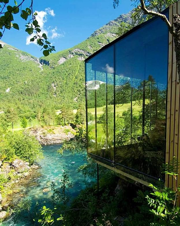 JUVET LANDSCAPE HOTEL by Jensen & Skovin in Norway New Hotel Project Designs