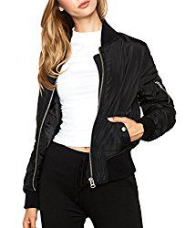 Satin Bomber Jackets for Women – The softer the satin, the better it'll drape your body.