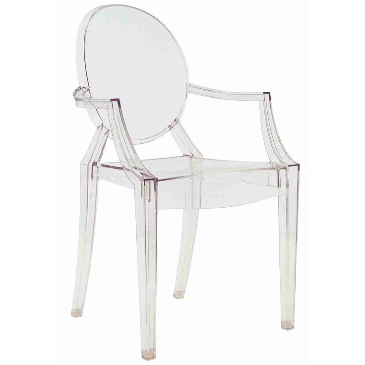Louis Ghost stol, transparent i gruppen Inspirasjon / Inspirasjon 2016 / Metal hos ROOM21.no (100462)