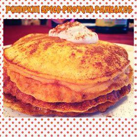 Pumpkin spice protein pancakes | Food & Beverage Cart | Pinterest