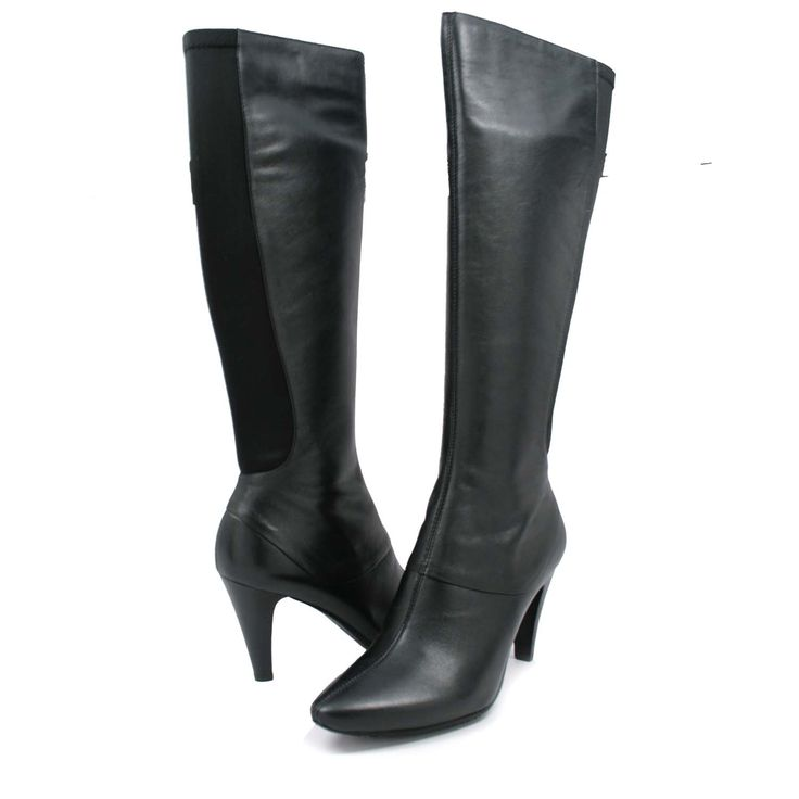 That bodycon dress knee high boots narrow calves knee length