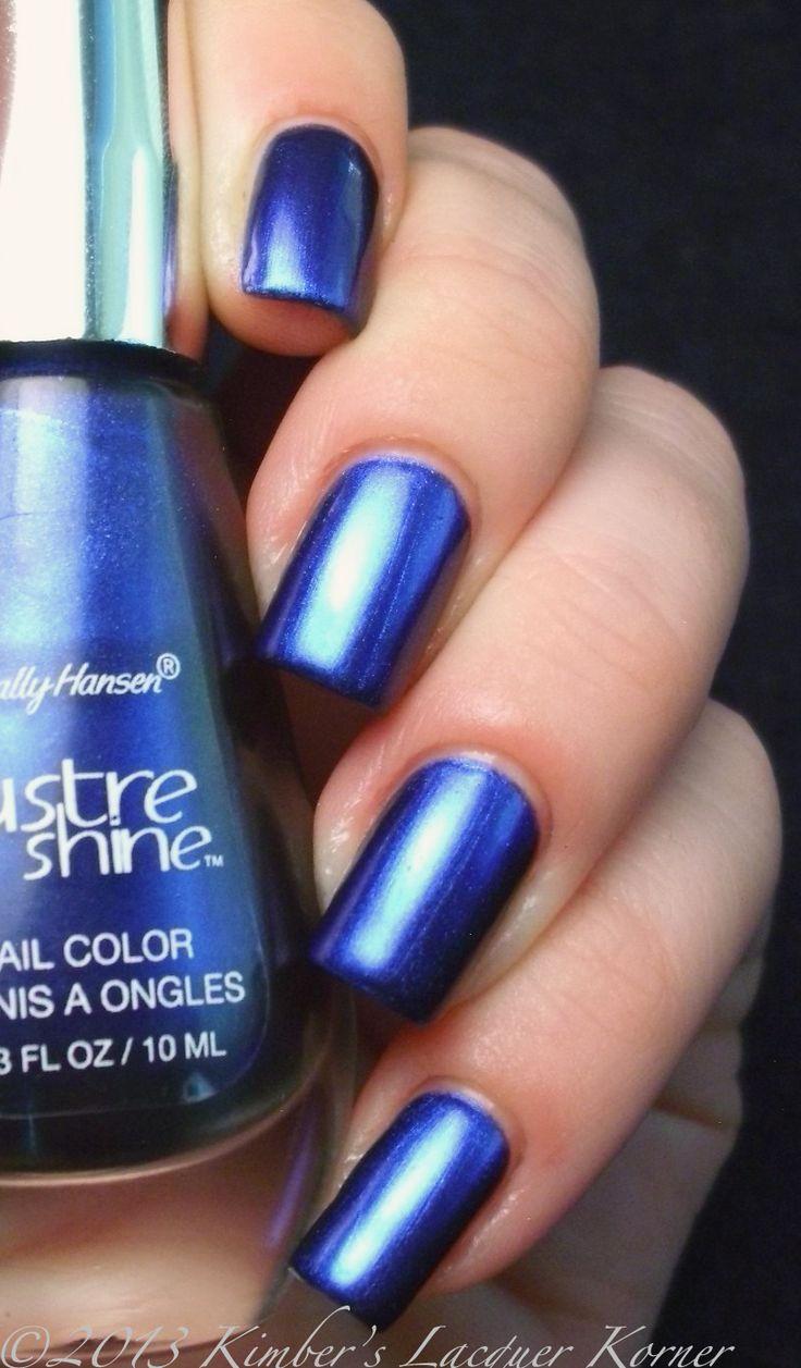 Hair amp nail choices aiibeauty - Sally Hansen Azure Untried