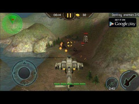 Gunship Strike 3D : Android Games. Permaianan: Pertempuran Helikopter (S...