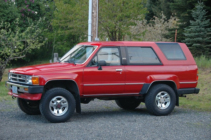 1st Generation Toyota 4runner 39 S Expedition Portal