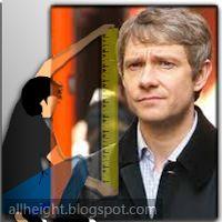 Martin Freeman Height - How Tall