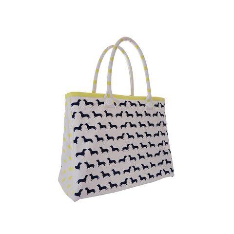 Dachshund Tote Bag! $69.95 from www.kellyandsam.com.au #dogfashion