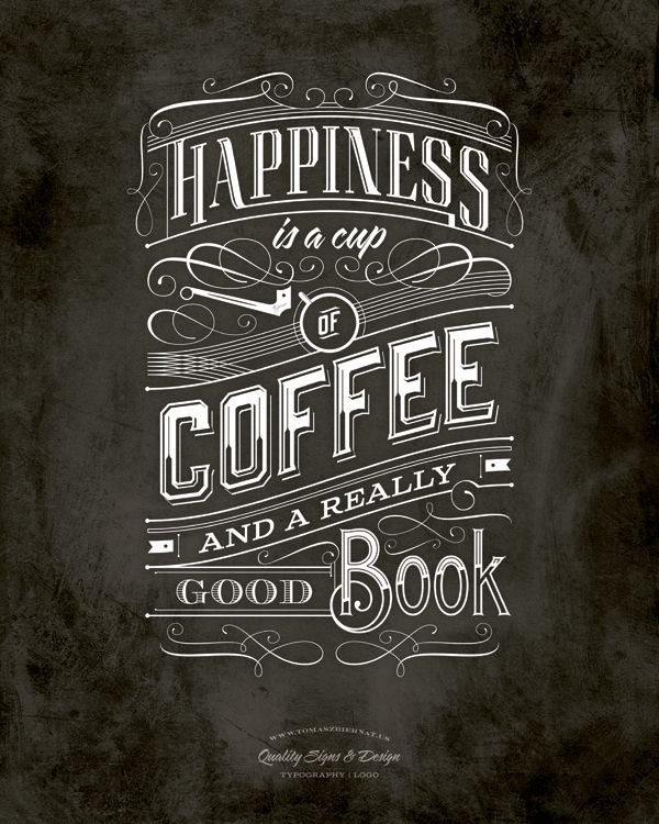 Typography / Coffe   Typography Poster