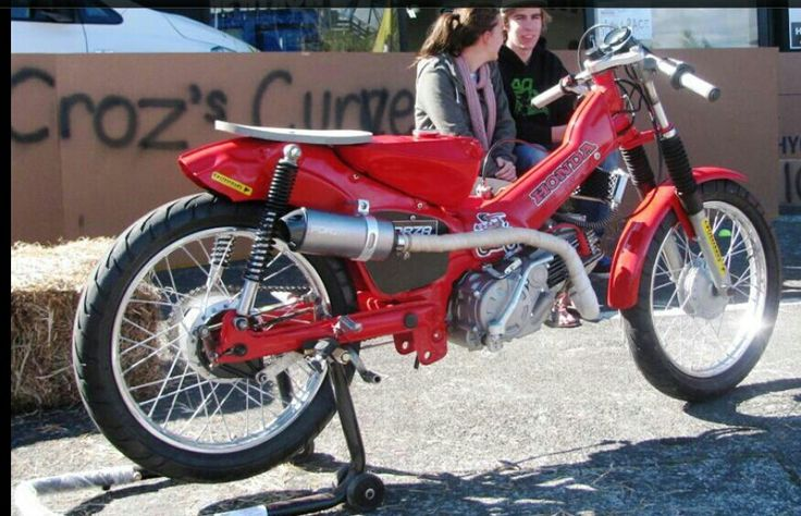 Cafe racer postie style