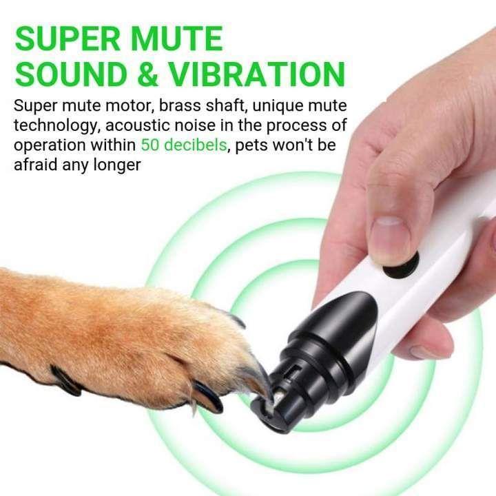 Premium Rechargeable Painless Pet S Nail Grinder Upgraded Version Cheap Pet Insurance Dog Nails Trim Nails