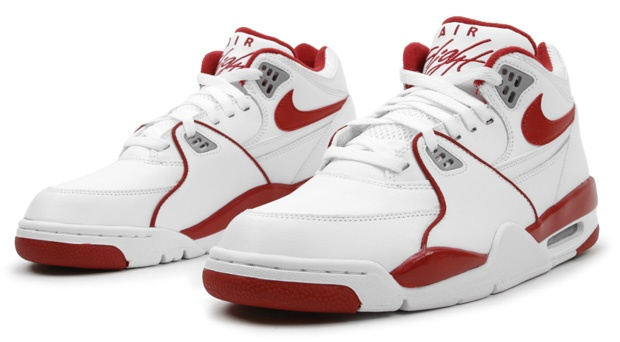 "Nike Air Flight '89   ""White/Varsity Red/Wolf Grey"""