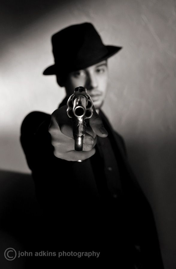 Note the depth of field - Justice in Showcase of Film Noir Photography