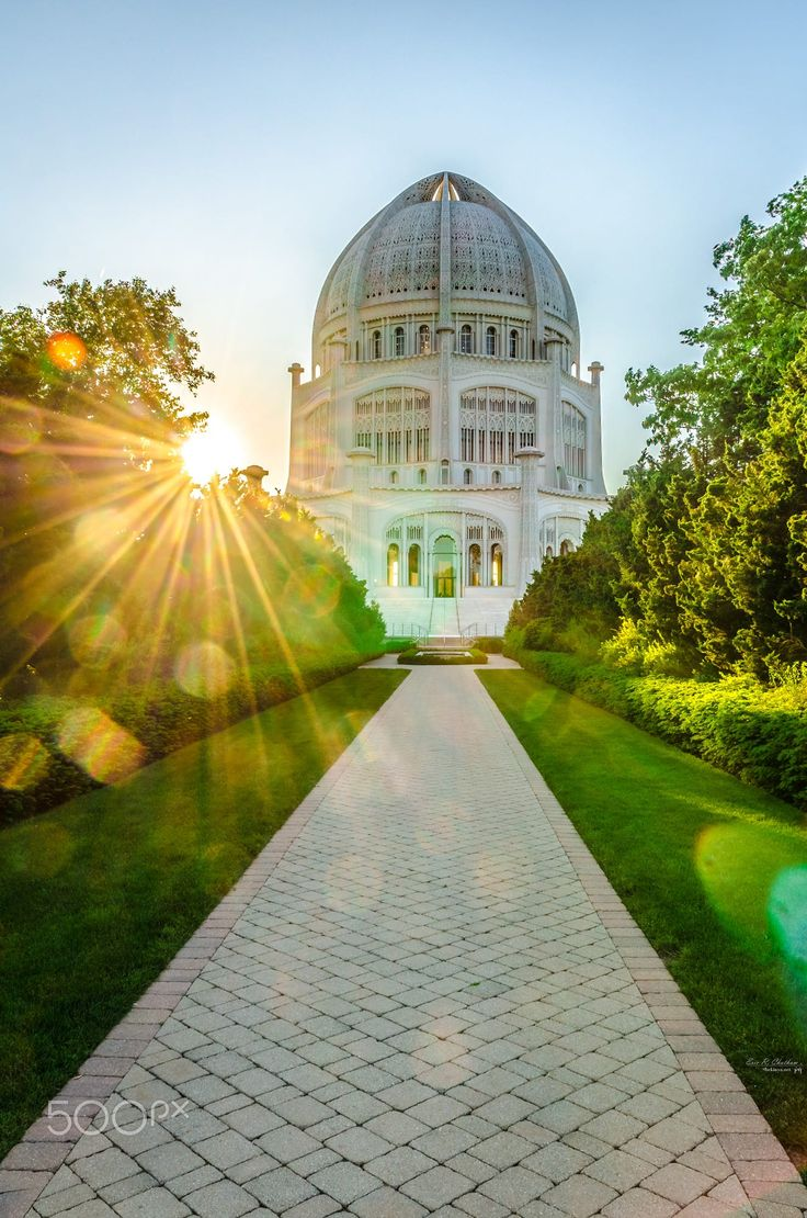 Bahai Temple Wilmette IL Pinned by ChiRenovation