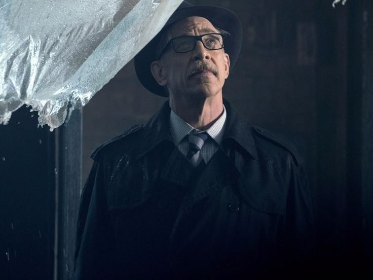 JK Simmons As Jim Gordon