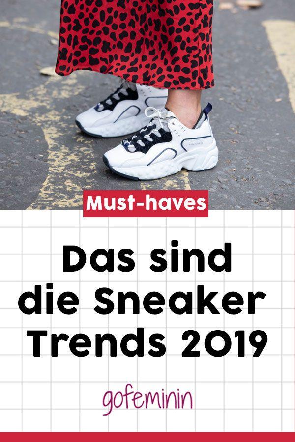 Sneaker Trends 2019: DIESE Turnschuhe sind jetzt in