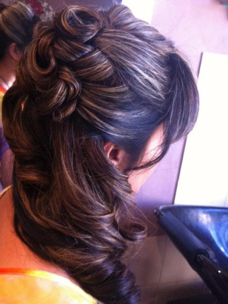 Bridal hair Follow snippany on Facebook