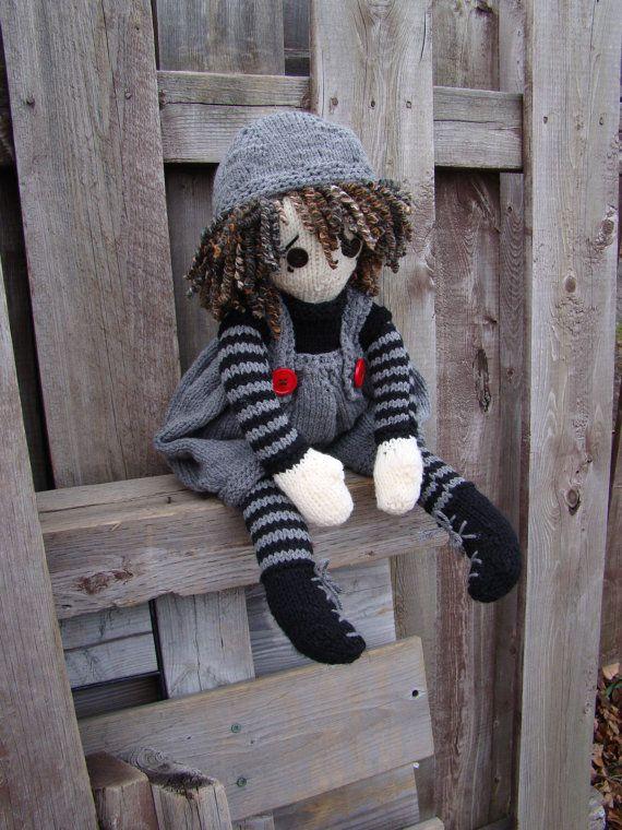 61 best I Love Lottie Dolls images on Pinterest   Knitted dolls ...