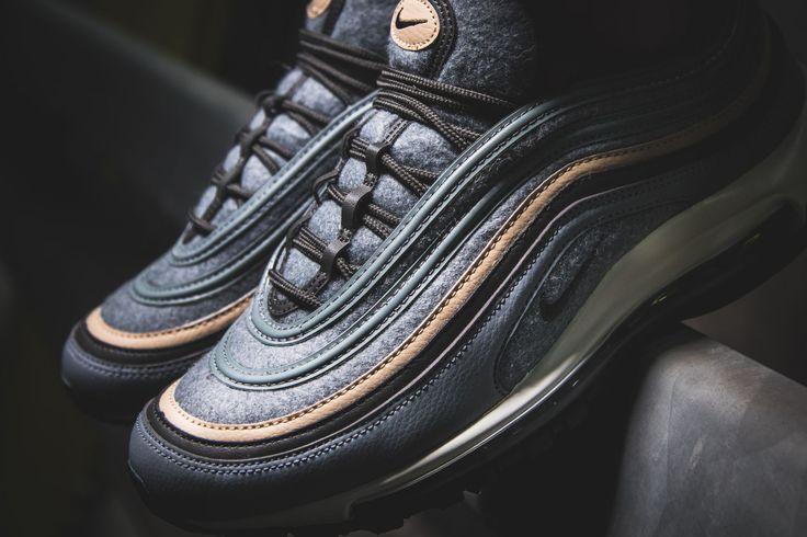 Nike Air Max 97 Premium Grey-Wool (grau) - 312834-003   43einhalb sneaker store