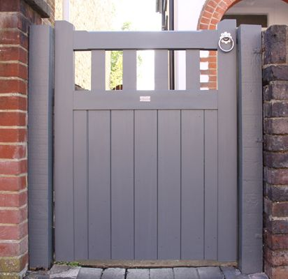 Slatted Belvoir Wooden Gate