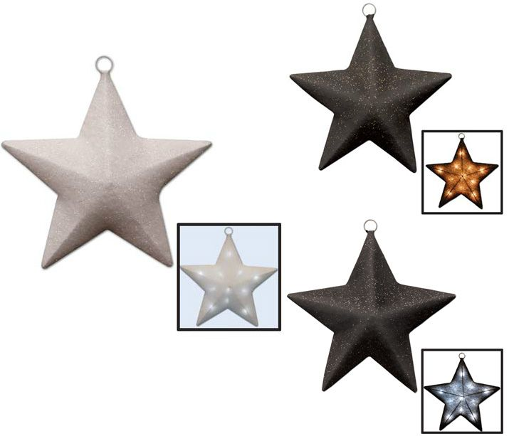 Ring in the New Year with these festive light-up stars!
