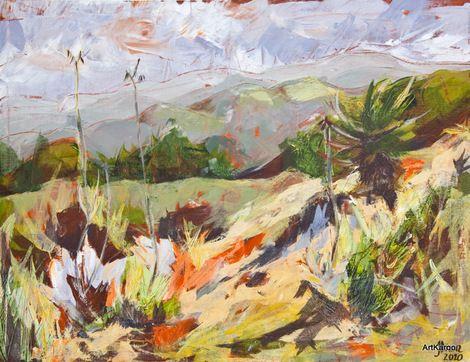 Janet Dixon, Klein Karoo Garden on ArtStack #janet-dixon #art