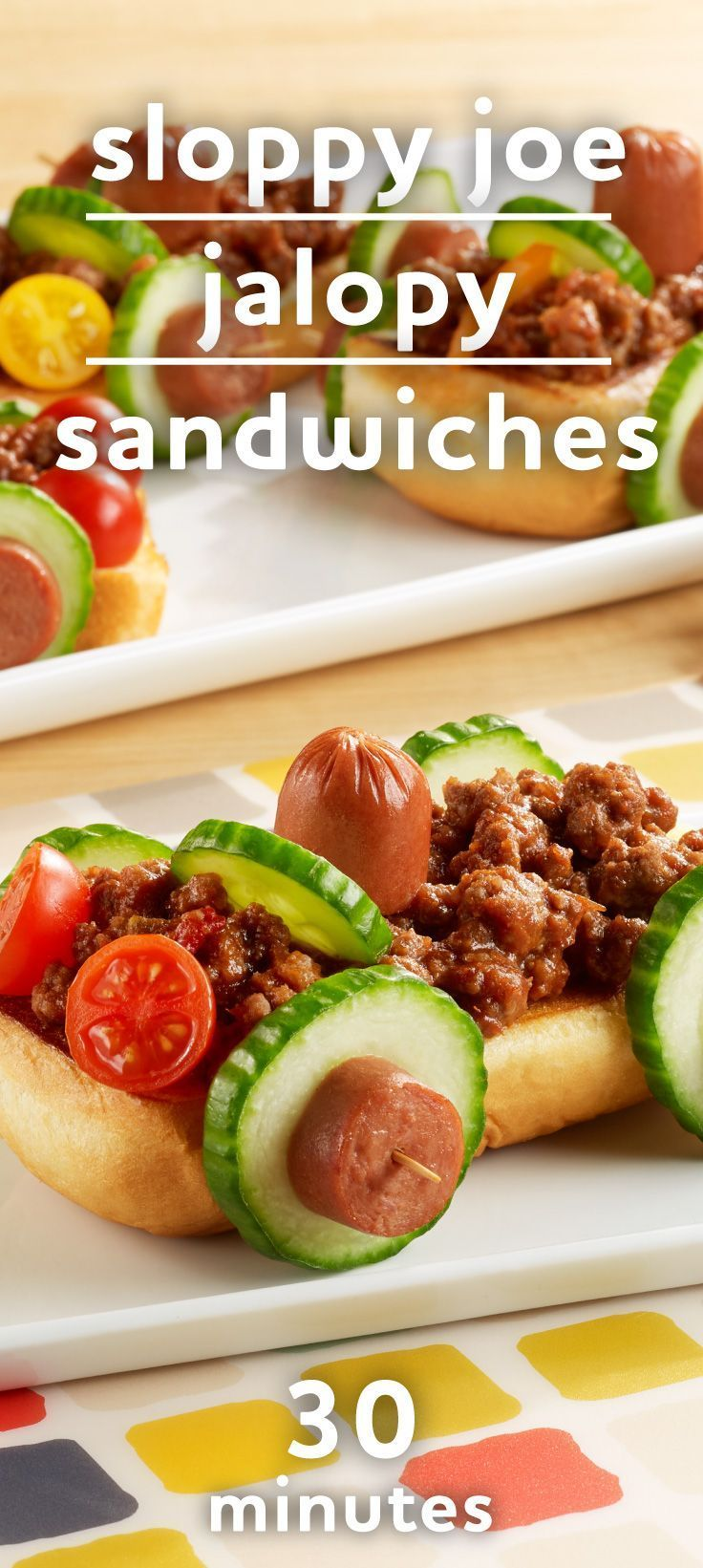 160 best kid friendly recipes images on pinterest baby foods sloppy joe jalopy sandwiches forumfinder Gallery