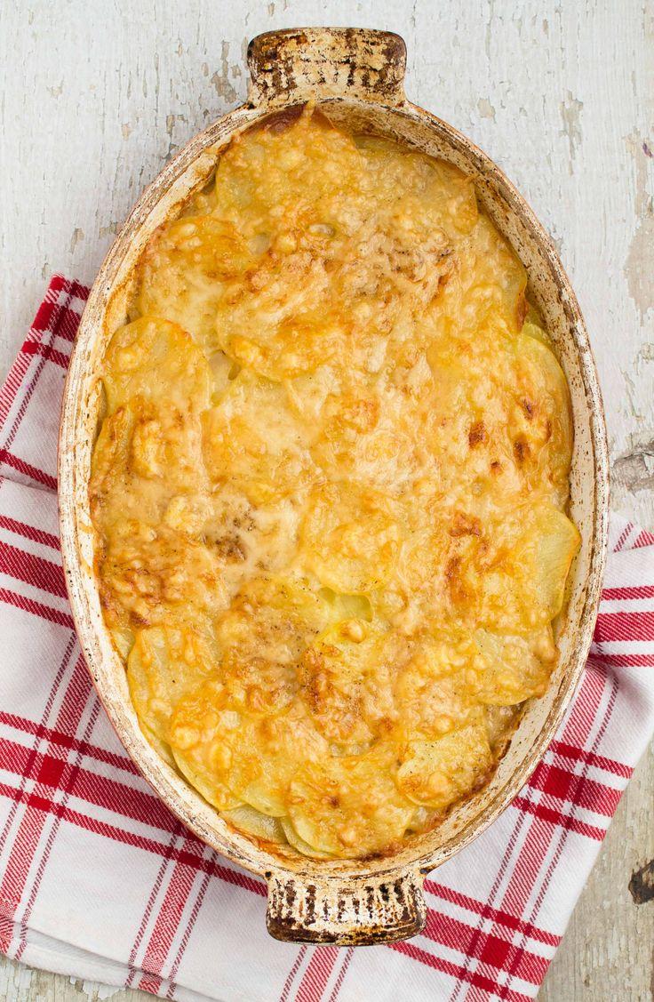 Julia Child's Potato Gratin Savoyard | Valerie's Kitchen