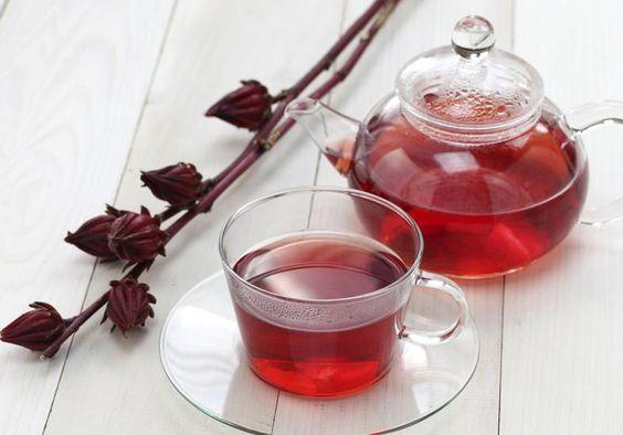 Dieta com Chá de hibisco