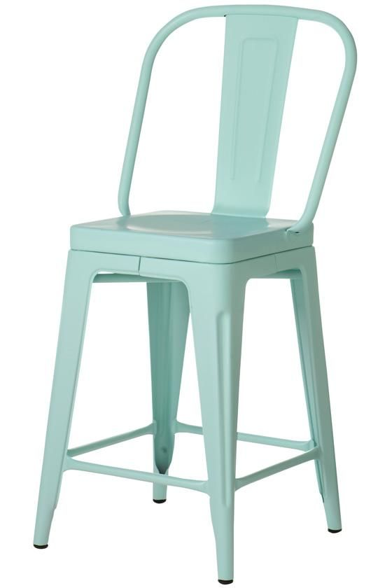 Aqua Aluminum Counter Stool These Will Be In My Craft