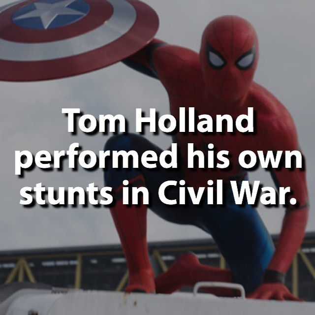 Perfect Casting. People who've seen  Civil War are praising Tom Holland.   I have seen it and he is my favorite ♡